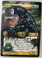 mtg Altered - The Mimoplasm no face ver2 by ClaarBar