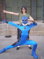 Me and the Blue Ranger by Phenom-Jak
