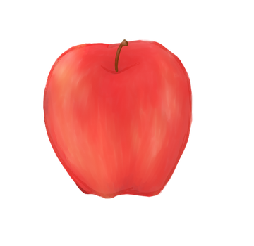 Apple by galled