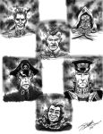 Imperial Guard portraits by JakarNilson