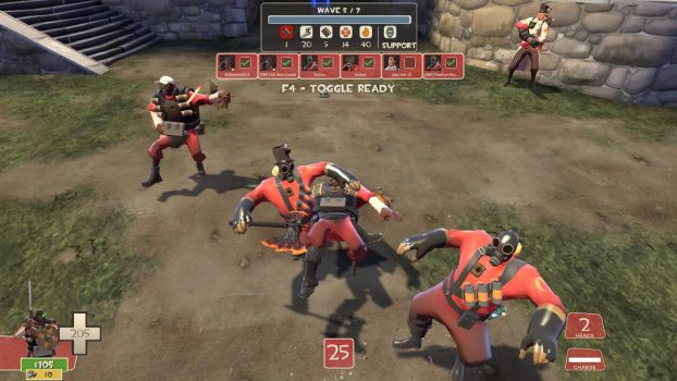 (TF2 Screenshot) Gang of The Medieval by IcerTheHedgehog293