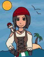 Pirate Neith - Smite by Lovatic01