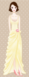 vanilla bride dress by drawarainbow
