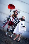 Kantai CollectionYamato and Midway Hime Cosplay by K-I-M-I