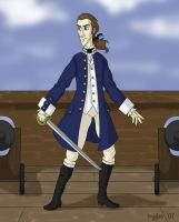 Midshipman Alan Lewrie by cardinalbiggles