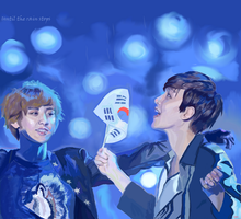 Baekyeol - until the rain stops by thereistoomuchbutter