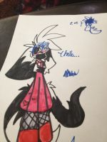 Slender in a dress eUe by SlenderStarAtNight