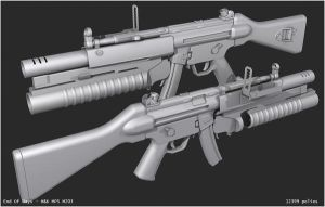 MP5 M203 by EoD19