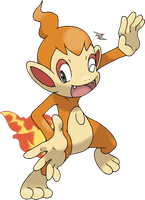 Chimchar v.2 by Xous54