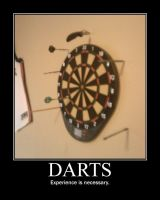 Darts -demotivation- by Dragunov-EX