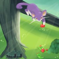 Rattata and friends by SeviYummy