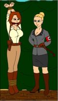 Red head Captured Nazis Again by Fusilli-Jerry