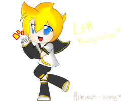 Len Kagamine - Practice :B by Mikurun-song