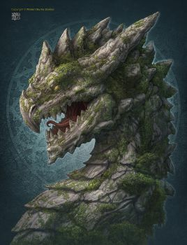 Earth Dragon by kerembeyit