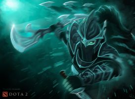 Phantom Assassin : Nimble Edge by qassamzed