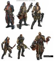 Bulletstorm Space Pirates by JohnMcCambridge