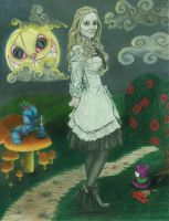 Alice in Wonderland by The-Wheels