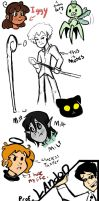 a small doodle dump by remnant-imaginations