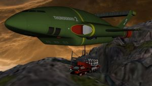 Thunderbird 2 pickup by PUFFINSTUDIOS