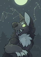 set with stars by ForestFright