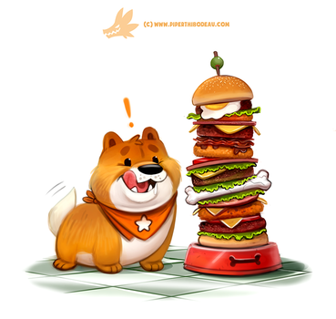 Chowchow Down! by Cryptid-Creations