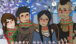 AC3 multiplayers scarf sharing by taiga-Ky