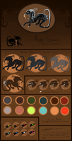 .:Aeken:. Reference colors by O-Shana