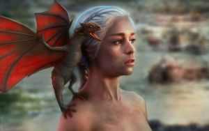 Daenerys by willroberts04
