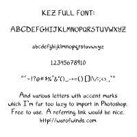 Kez Full Font by Kezhound