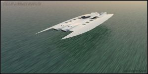 Offshore Groundeffect Racer53 by Scifiwarships