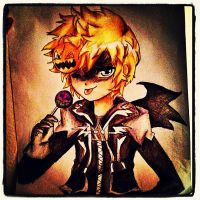 Halloween Town Roxas by MusicIzLyphe