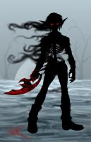evil silhouette by Know-Kname