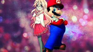 Mario And Miyuki! by 4EverRandomPuppy20