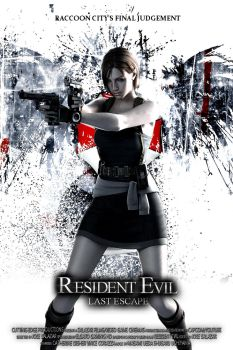 Resident Evil: Last Escape - Poster by CuttingEdge93