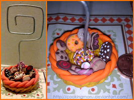 Basket of sweets photo frame by CookingMaru