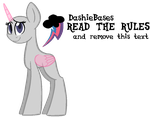MLP Base: Dashie style by DashieBases