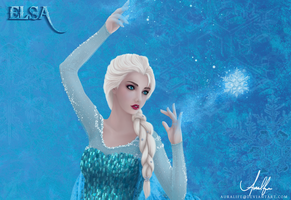 Elsa [Frozen Version] by auralife