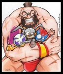 ::E.VS.W Mucha Lucha Zangief:: by Turboman