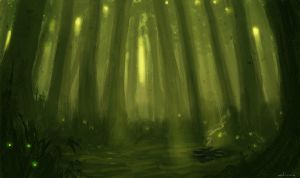 Witch Forest by putridCheese