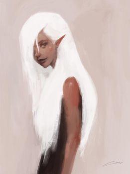 Elven Rockstar by Alex-Chow