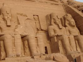 Abu Simbel2 by EmberRoseArt