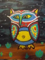ow'll paint an owl by MichaelFlinn