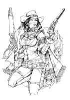 Lady Mechanika Outlaw Inks by devgear