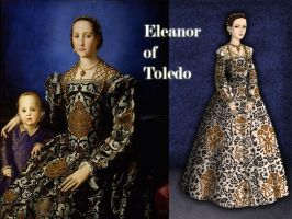 Eleanor of Toledo by Nurycat