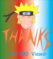 Thanks For 500 Pageviews by madhouse1991