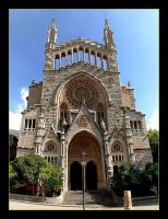 Cathedral In Soller - Mallorca by skarzynscy