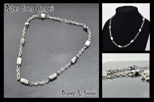 Ashes from Pompeii - Necklace by crazed-fangirl