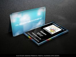 Freefall Business Card Design by bry5012