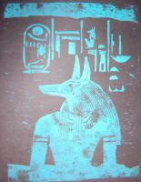 Yinepu block print by egypt-club