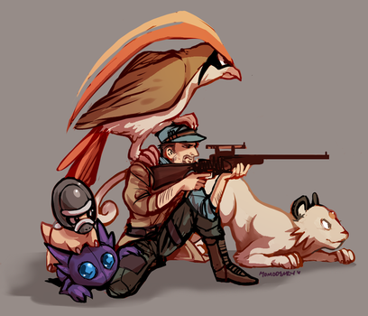 Team MacCready by Momo-Deary